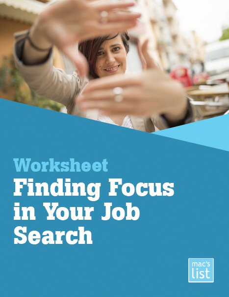 Finding Focus in Your Job Search