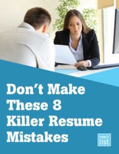 don't make these 8 killer resume mistakes