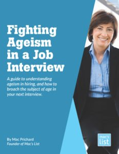 fight ageism in a job interview