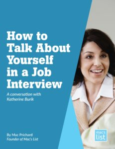 how to talk about yourself in an interview