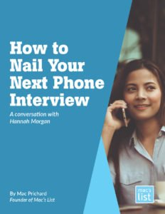 nail your next phone interview