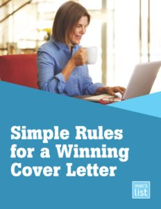 simple rules for a winning cover letter